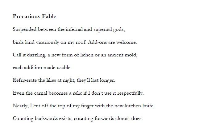 Precarious Fable