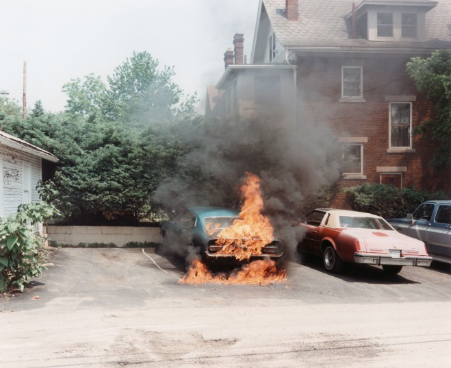 'On Fire' from the series 'Ohio', 1983-84 Kopie