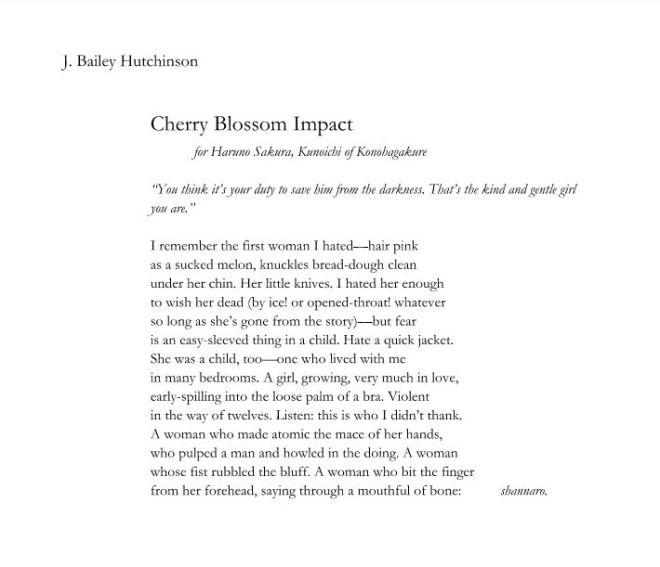 J. Bailey Hutchinson-Cherry Blossom Impact
