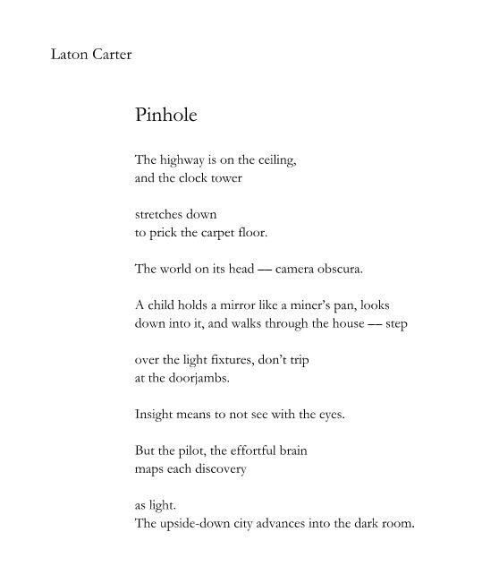Laton Carter-Pinhole