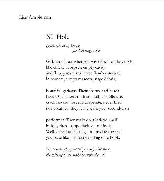 Lisa Ampleman-Hole _Courtly Love_